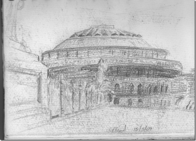 Albert Hall sketch