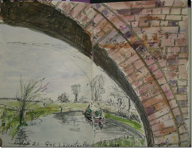 Bridge 21, Grand union leicester arm