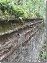Decaying wall