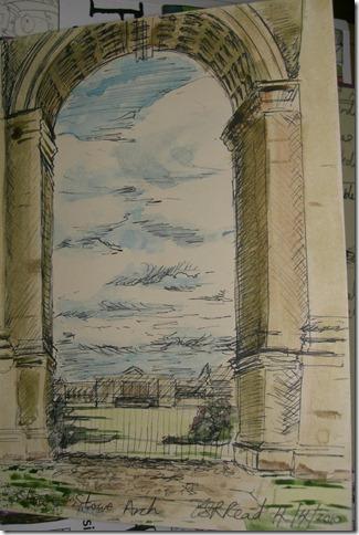 Stowe Arch