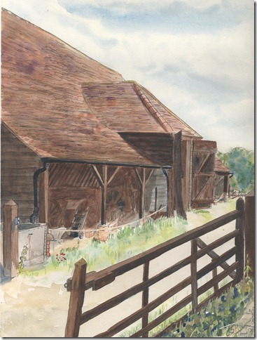 Marsworth Stables and cart shed