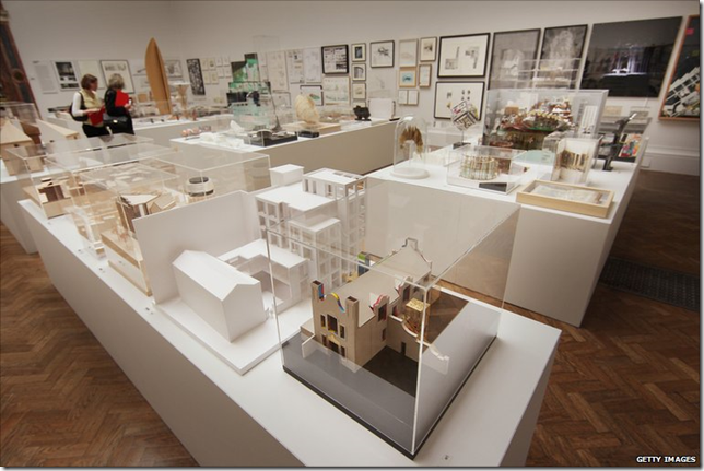 Archtecture room Summer exhibition