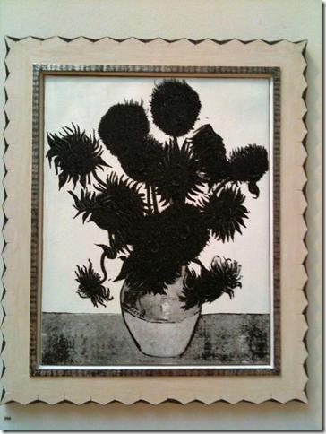 Mark Alexander Black Van Gogh's sunflowers